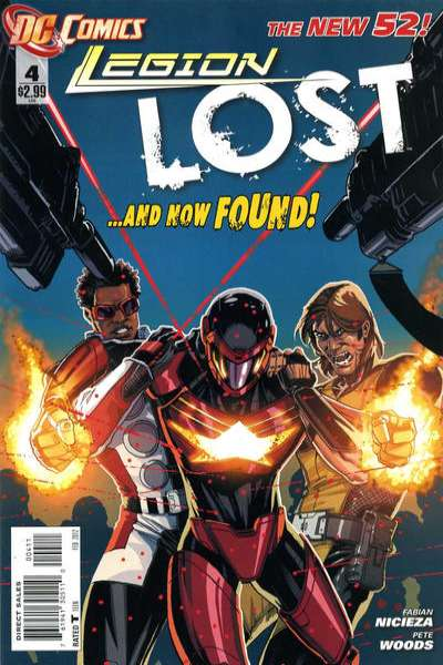 Legion Lost #4 comic books - cover scans photos Legion Lost #4 comic books - covers, picture gallery