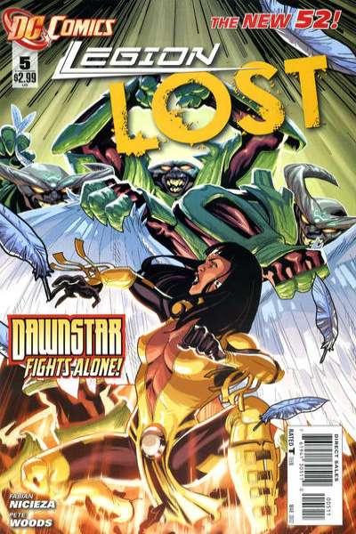 Legion Lost #5 comic books - cover scans photos Legion Lost #5 comic books - covers, picture gallery