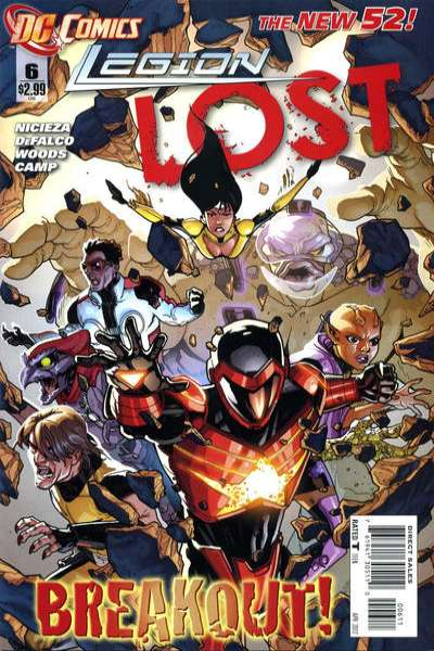 Legion Lost #6 comic books for sale