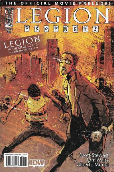 Legion: Prophets comic books