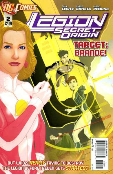 Legion: Secret Origin #2 comic books for sale
