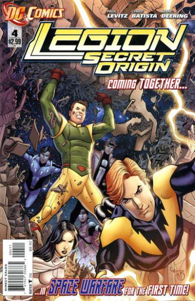 Legion: Secret Origin #4 comic books - cover scans photos Legion: Secret Origin #4 comic books - covers, picture gallery