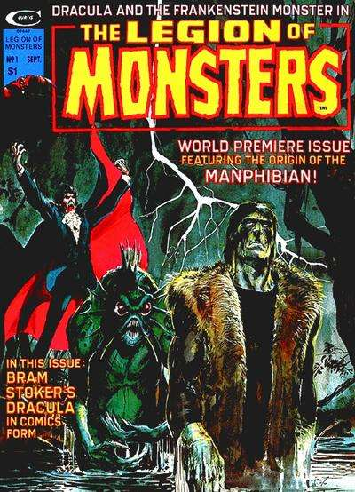 Legion of Monsters comic books