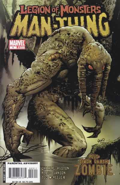 Legion of Monsters: Man-Thing #1 comic books - cover scans photos Legion of Monsters: Man-Thing #1 comic books - covers, picture gallery