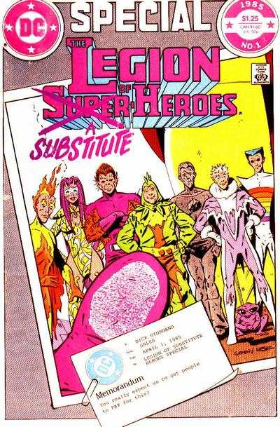 Legion of Substitute Heroes Special #1 comic books for sale