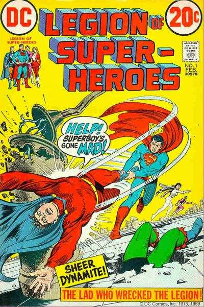 Legion of Super-Heroes #1 Comic Books - Covers, Scans, Photos  in Legion of Super-Heroes Comic Books - Covers, Scans, Gallery