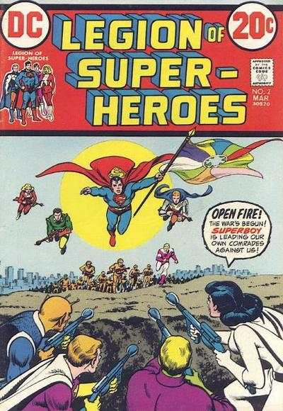Legion of Super-Heroes #2 comic books - cover scans photos Legion of Super-Heroes #2 comic books - covers, picture gallery