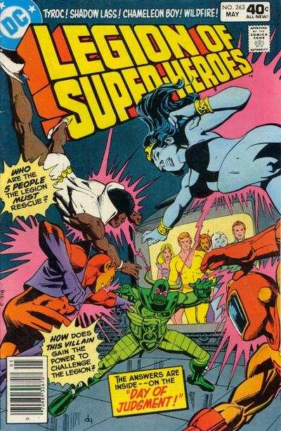 Legion of Super-Heroes #263 comic books for sale