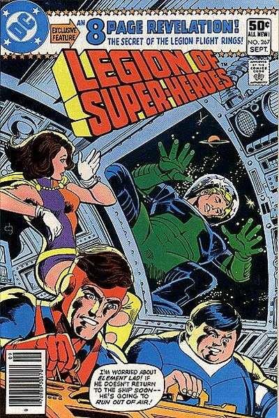 Legion of Super-Heroes #267 comic books - cover scans photos Legion of Super-Heroes #267 comic books - covers, picture gallery