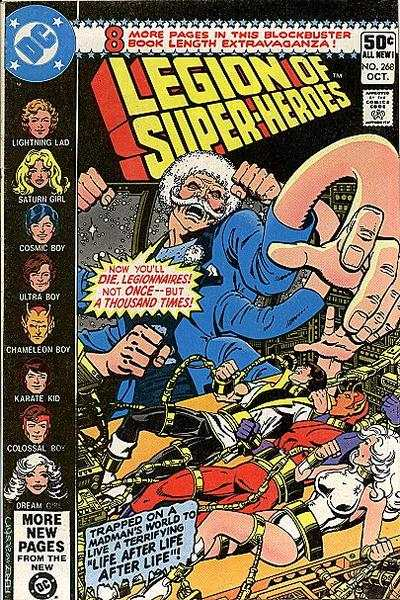 Legion of Super-Heroes #268 Comic Books - Covers, Scans, Photos  in Legion of Super-Heroes Comic Books - Covers, Scans, Gallery