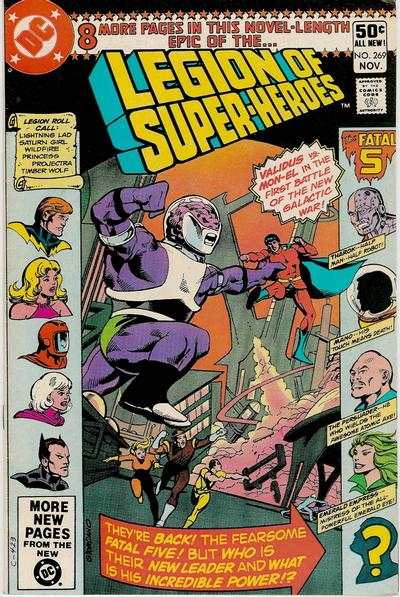 Legion of Super-Heroes #269 comic books for sale