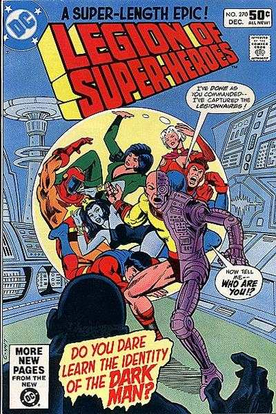 Legion of Super-Heroes #270 comic books - cover scans photos Legion of Super-Heroes #270 comic books - covers, picture gallery