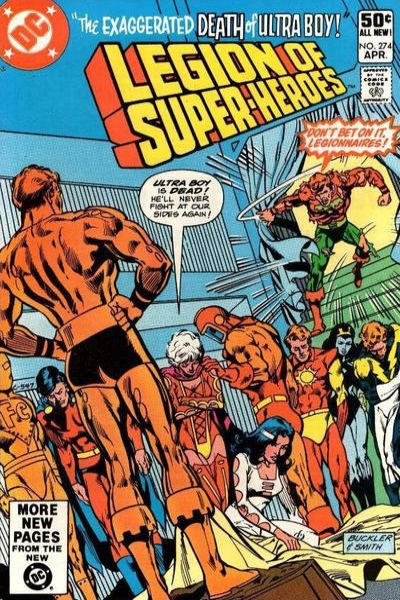 Legion of Super-Heroes #274 comic books for sale