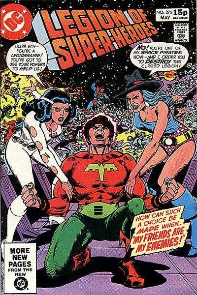 Legion of Super-Heroes #275 comic books - cover scans photos Legion of Super-Heroes #275 comic books - covers, picture gallery