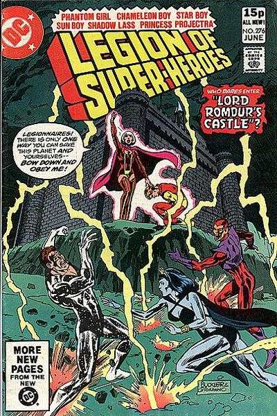 Legion of Super-Heroes #276 comic books - cover scans photos Legion of Super-Heroes #276 comic books - covers, picture gallery