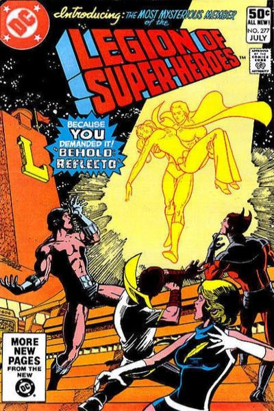 Legion of Super-Heroes #277 comic books - cover scans photos Legion of Super-Heroes #277 comic books - covers, picture gallery