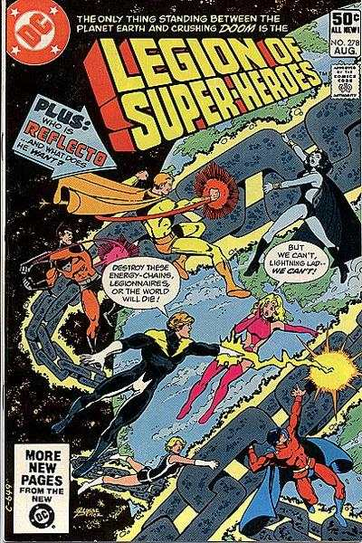 Legion of Super-Heroes #278 comic books - cover scans photos Legion of Super-Heroes #278 comic books - covers, picture gallery