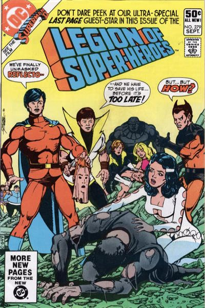 Legion of Super-Heroes #279 comic books - cover scans photos Legion of Super-Heroes #279 comic books - covers, picture gallery