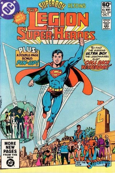 Legion of Super-Heroes #280 comic books for sale