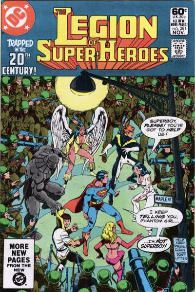 Legion of Super-Heroes #281 Comic Books - Covers, Scans, Photos  in Legion of Super-Heroes Comic Books - Covers, Scans, Gallery
