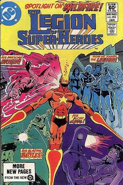 Legion of Super-Heroes #283 comic books - cover scans photos Legion of Super-Heroes #283 comic books - covers, picture gallery
