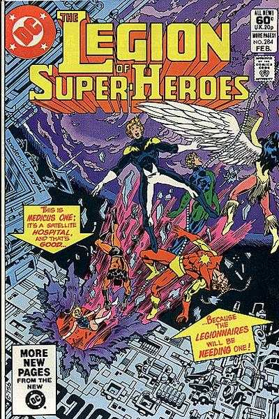 Legion of Super-Heroes #284 comic books - cover scans photos Legion of Super-Heroes #284 comic books - covers, picture gallery