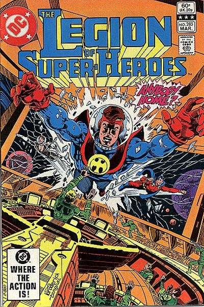 Legion of Super-Heroes #285 comic books - cover scans photos Legion of Super-Heroes #285 comic books - covers, picture gallery
