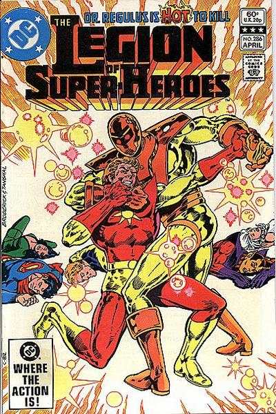 Legion of Super-Heroes #286 comic books for sale