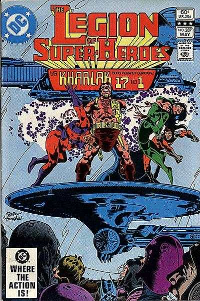 Legion of Super-Heroes #287 comic books for sale