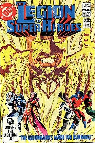 Legion of Super-Heroes #288 comic books - cover scans photos Legion of Super-Heroes #288 comic books - covers, picture gallery