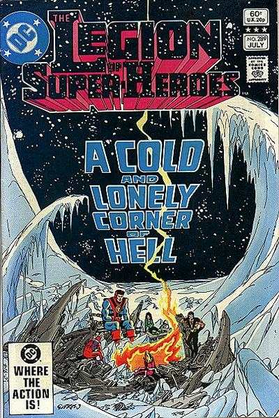 Legion of Super-Heroes #289 comic books for sale