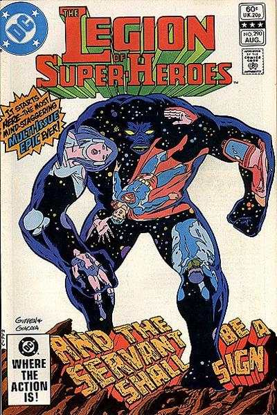 Legion of Super-Heroes #290 Comic Books - Covers, Scans, Photos  in Legion of Super-Heroes Comic Books - Covers, Scans, Gallery