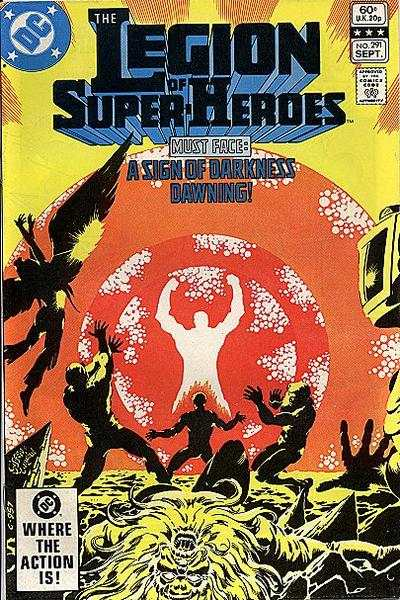 Legion of Super-Heroes #291 comic books - cover scans photos Legion of Super-Heroes #291 comic books - covers, picture gallery