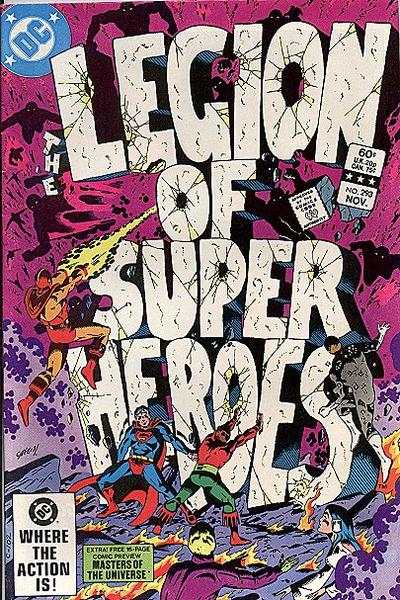 Legion of Super-Heroes #293 comic books - cover scans photos Legion of Super-Heroes #293 comic books - covers, picture gallery