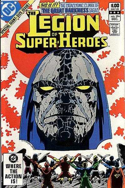 Legion of Super-Heroes #294 comic books for sale