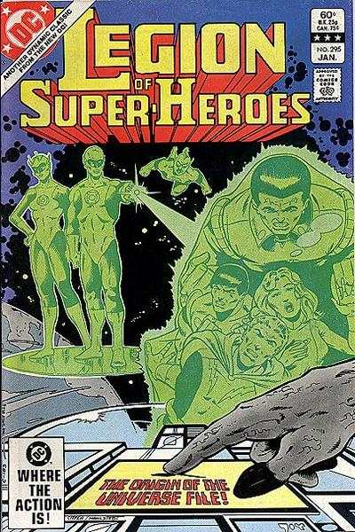 Legion of Super-Heroes #295 Comic Books - Covers, Scans, Photos  in Legion of Super-Heroes Comic Books - Covers, Scans, Gallery