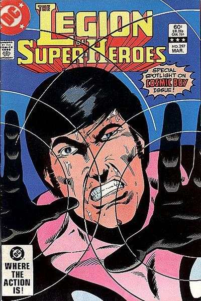 Legion of Super-Heroes #297 comic books for sale