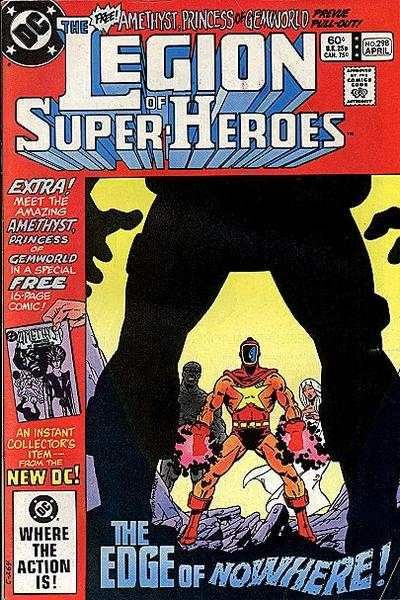Legion of Super-Heroes #298 comic books - cover scans photos Legion of Super-Heroes #298 comic books - covers, picture gallery