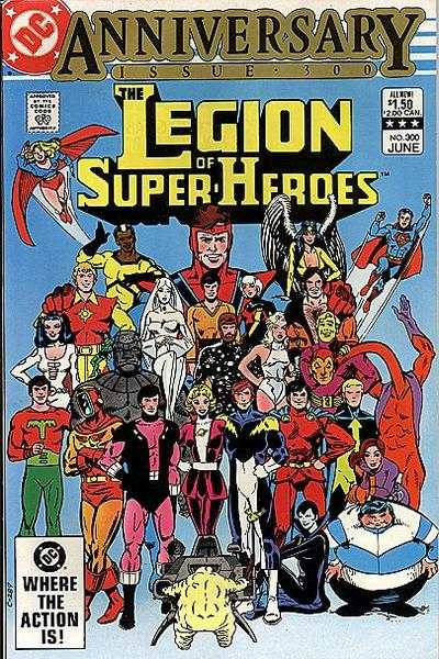 Legion of Super-Heroes #300 Comic Books - Covers, Scans, Photos  in Legion of Super-Heroes Comic Books - Covers, Scans, Gallery