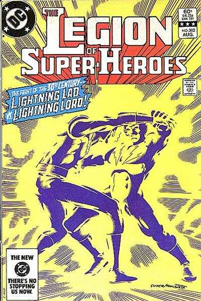 Legion of Super-Heroes #302 comic books - cover scans photos Legion of Super-Heroes #302 comic books - covers, picture gallery