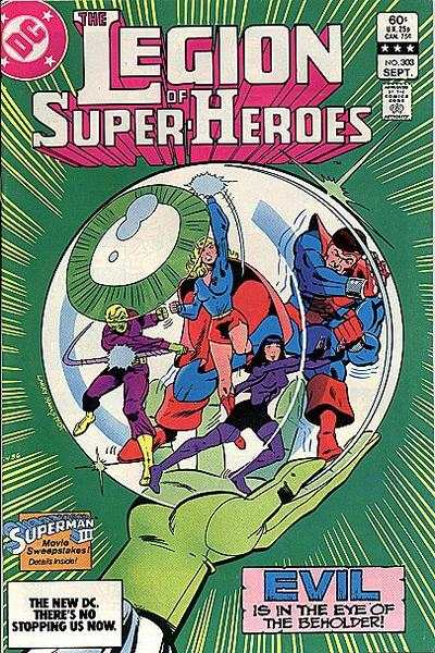 Legion of Super-Heroes #303 comic books for sale