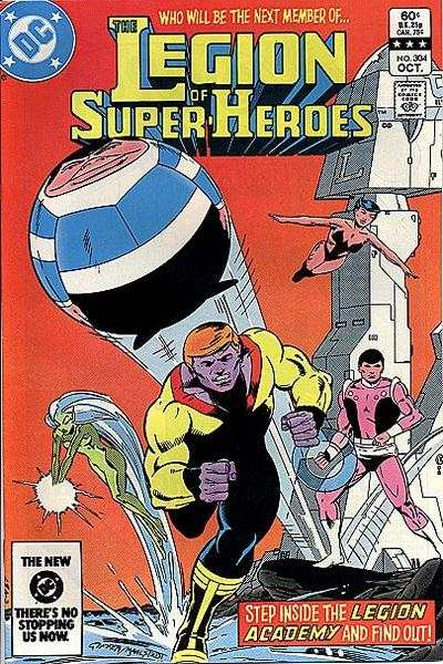 Legion of Super-Heroes #304 Comic Books - Covers, Scans, Photos  in Legion of Super-Heroes Comic Books - Covers, Scans, Gallery