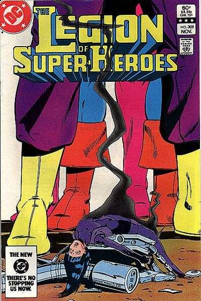 Legion of Super-Heroes #305 comic books - cover scans photos Legion of Super-Heroes #305 comic books - covers, picture gallery