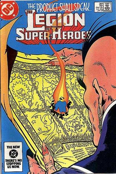 Legion of Super-Heroes #307 comic books for sale