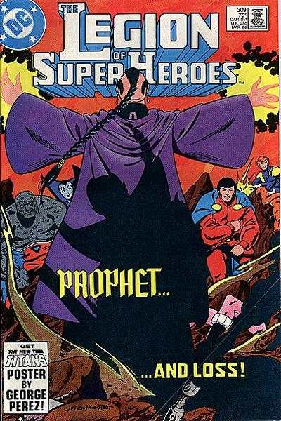 Legion of Super-Heroes #309 comic books - cover scans photos Legion of Super-Heroes #309 comic books - covers, picture gallery