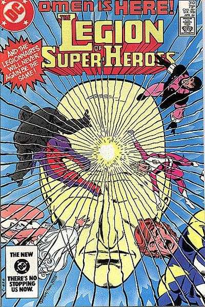 Legion of Super-Heroes #310 comic books for sale