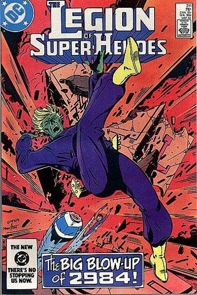 Legion of Super-Heroes #311 Comic Books - Covers, Scans, Photos  in Legion of Super-Heroes Comic Books - Covers, Scans, Gallery