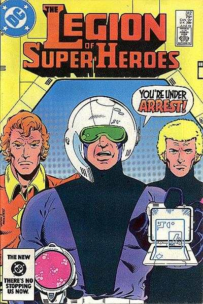 Legion of Super-Heroes #312 comic books - cover scans photos Legion of Super-Heroes #312 comic books - covers, picture gallery