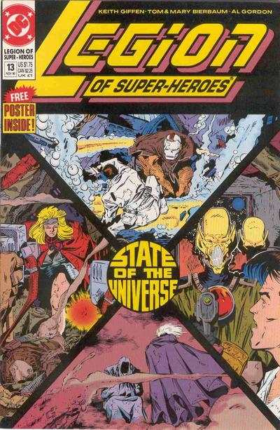 Legion of Super-Heroes #13 comic books for sale