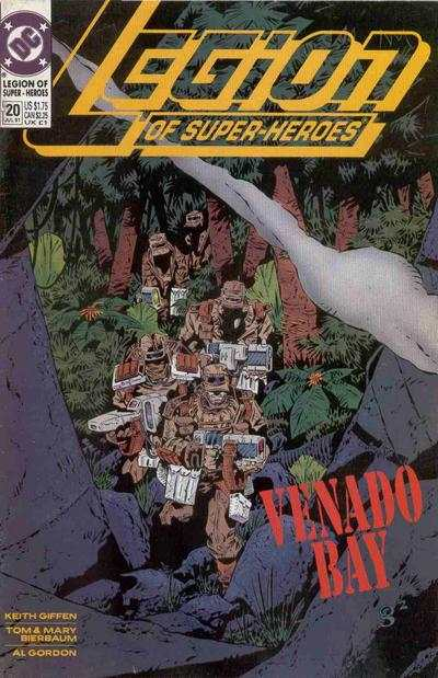 Legion of Super-Heroes #20 comic books - cover scans photos Legion of Super-Heroes #20 comic books - covers, picture gallery